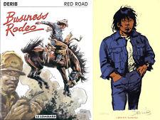 DERIB RED ROAD #7 BUSINESS EDITION ORIGINALE+EX-LIBRIS 220 ex. n°/signés