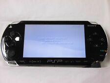 V2916 Sony PSP 1000 console Black Handheld system Japan w/battery English