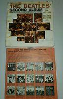 The Beatles Lp Second Album TESTED BOTH SIDES No Skips MONO T 2080 Capitol 2nd
