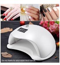 Lámpara Led ultravioleta para uñas de 36 V con 4 ajustes de temporizador y 2 l