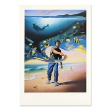 """Wyland """"Another Day at the Office"""" Signed Limited Edition Art; COA"""