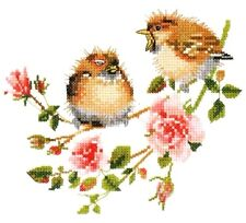 Heritage Valerie Pfeiffer Counted Cross Stitch Chart ~ ROSE CHICK-CHAT Sale #778