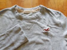 Hollister Women's Long Sleeve Gray T-Shirt Size XS (36 inches chest)