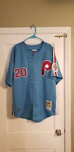 100% Authentic Mitchell & Ness Mike Schmidt 1984 Phillies Jersey Size 52 XXL