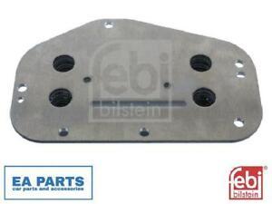 Oil Cooler, engine oil for ALFA ROMEO CHEVROLET FIAT FEBI BILSTEIN 101407