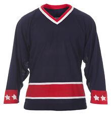 CCM Adult Columbus Blue Jackets Practice Jersey Home,Ice Hockey,Roller Hockey