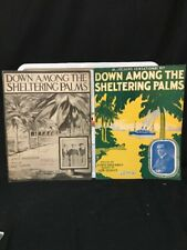 Two Versions! Down Among The Sheltering Palms (1915) Al Jolson & Chippen Tri