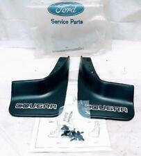 Ford OEM Black LH RH Rear Splash Shield Set for 1990 1991 Mercury Cougar NOS