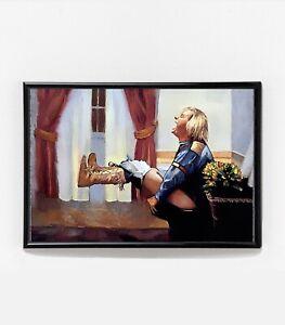 Dumb & Dumber Movie Poster | Framed | Harry Dunne Bathroom Art | NEW | USA