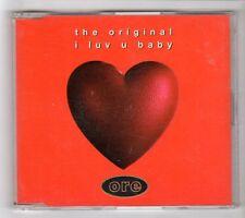 (HA905) The Original, I Luv U Baby - 1994 CD