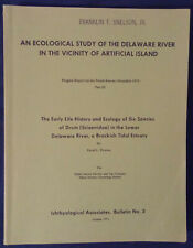 An Ecological Study of the Delaware River Report Fishes (1971) Drums Ichthyology