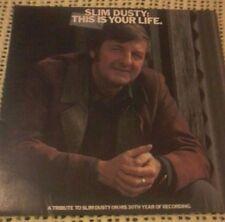 SLIM DUSTY THIS IS YOUR LIFE VINYL LP 1976 ORIGINAL AUSTRALIAN PRESSING SCXA8033