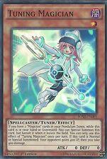YU-GI-OH CARD: TUNING MAGICIAN - SUPER RARE - BOSH-EN001 1ST EDITION