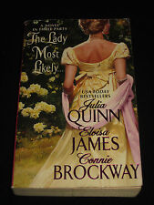 msm JULIA QUINN ELOISA JAMES CONNIE BROCKWAY ~ THE LADY MOST LIKELY