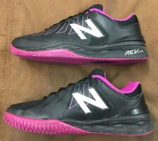 NB NEW BALANCE 1006 V1 TENNIS COURT SHOES REV LITE BLACK PINK WOMEN'S SIZE 9