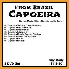 Capoeira with Nilson Reis and Joselito Santos (8 DVD Set)