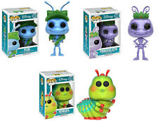 Funko POP! Disney ~ A BUG'S LIFE FIGURE SET ~ Flik, Princess Atta, Heimlich