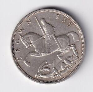 Großbritannien Crown 1935 in vz leichte Kratzer nsw-leipzig