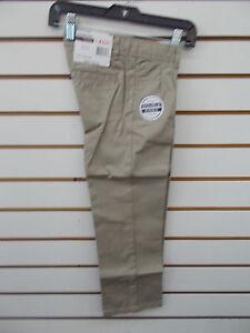 Boys IZOD $32 -$34 Uniform Khaki or Navy Pleated Front Pants Sizes 5 & 12