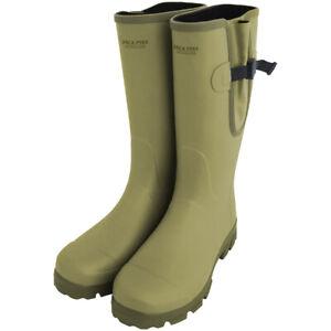 Jack Pyke Ashcombe Gusset Wellington Boots Walking Hiking Gardening Rubber Olive