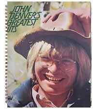 John Denver's Greatest Hits Record 70S SOFT ROCK Album Cover Notebook vintage