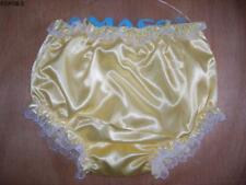 Adult Baby Sissy Satin PVC Lace Pants New    Ship from Sydney  M--XXL