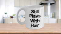 Hair Stylist Mug White Coffee Cup Funny Gift for Hairdresser Cosmetologist Salon