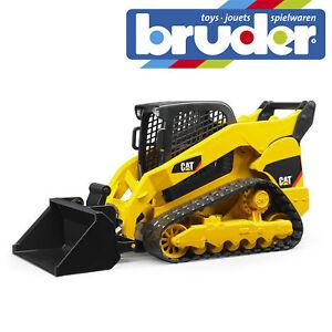 Bruder Cat Multi Terrain Loader Construction Toy Kids Childrens Model Scale 1:16