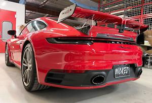 Porsche 992 Carrera TechArt Spoiler Wing for 2020-2021 Coupe applications