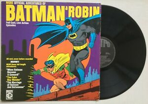 BATMAN & ROBIN More Official Adventures of Batman & Robin 1966 METRO VG/VG+