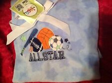 Circo Sports Baby Blanket Boys Crib Nursery Boys Baseball Basketball NEW Soccer