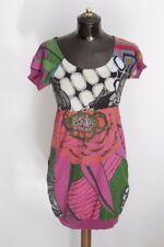 DESIGUAL M vestito dress maglia D1565