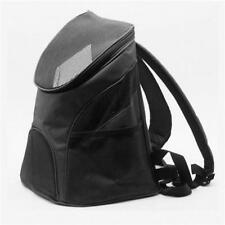 Pet Backpack Puppy Dog Cat Mesh Portable Travel Carrier Double Shoulder Bag shan
