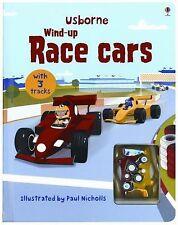 Wind-Up Race Cars (Usborne Wind-Up Books)