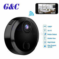 DVR HD 1080P Wireless WiFi Mini Hidden Camcorder IP Cam Night VIEW A2TM