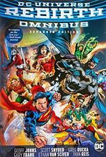 DC Rebirth Omnibus Expanded Edition by Ivan Reis Hardcover DC Comics New