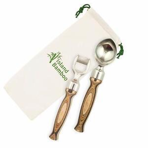 NCAA North Carolina Tar Heels Elan Deluxe Waiters Corkscrew in Gift Box Bamboo