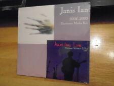 SEALED RARE PROMO Janis Ian CD 04-05 Electronic Media Kit DOLLY PARTON sampler !