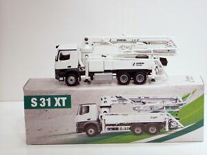 Mercedes Benz Schwing S31XT Concrete Pumper - 1/50 - Conrad #78137 - New