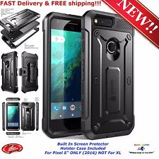 For Google Pixel 5 inch Phone Case Screen Protector Cover Belt Clip Holster 2016