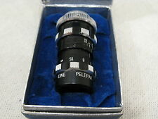 """Vintage CINE PELEPAR f 3.5 D Mount Lens 1 1/2"""" in Box - GERMANY"""