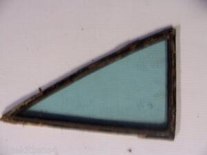 1960 CHEVY BEL AIR RIGHT REAR SIDE QUARTER WINDOW GLASS 4 DOOR SEDAN OEM USED
