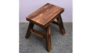 Stool Wood Bench Children Coffee Color Step Kids Small Chair Foot Rest Stepping