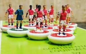 Arsenal Home 20/21 Subbuteo team Handpainted And Decals