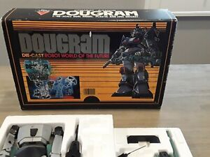 TAKARA DOUGRAM VINTAGE: RARE 1:48 Dual Model Zinc Metal w/Box/Papers Japan