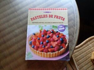 Libro: Pasteles de fruta. Tapa dura. Mira mis otros artículos