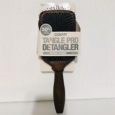 CONAIR - Tangle Pro Detangler Wood Paddle Hair Brush - 1 Brush- New