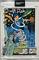DEREK JETER 2020 TOPPS NEW YORK YANKEES SLABBED SEALED UNCIRCULATED ART CARD COA