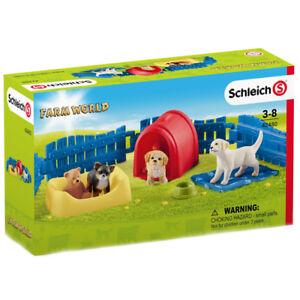 Schleich Farm World Puppy Pen Figure Pack 42480