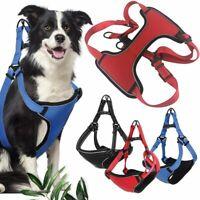 Dog Pet Adjustable Vest Harness No Pull Nylon Small/Medium/Large Reflective Vest